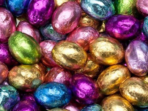 Image result for pretty easter egg foils