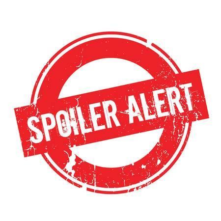 Spoiler Alert rubber stamp Stock Vector - 78174196