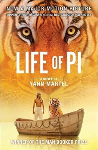Image result for the life of pi cover
