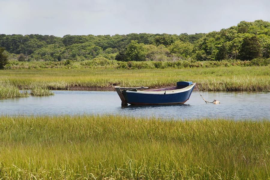 Image result for boat on the marsh