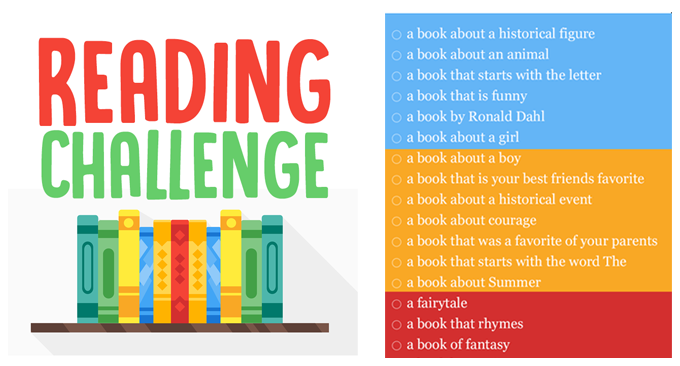 Image result for reading challenge