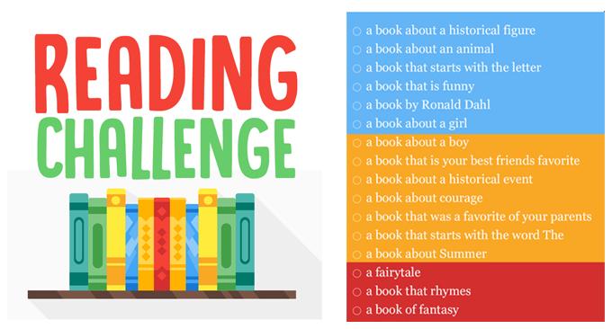 Image result for reading challenge