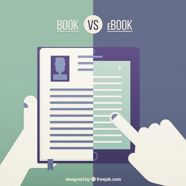 Image result for book vs ebook