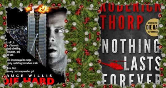 Image result for die hard book vs movie cover