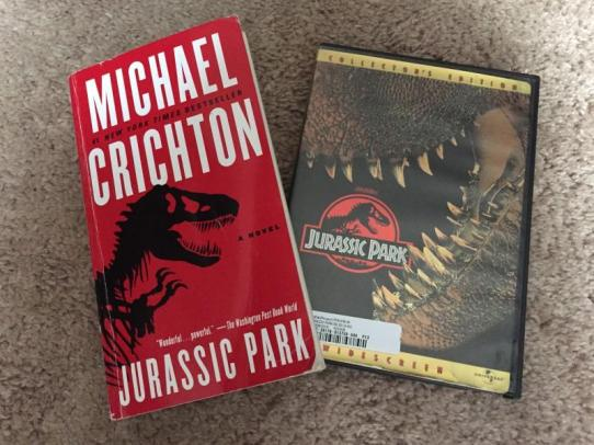Image result for jurassic park books