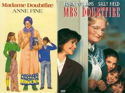 Image result for Mr. Doubtfire vs Madame  Doubtfire