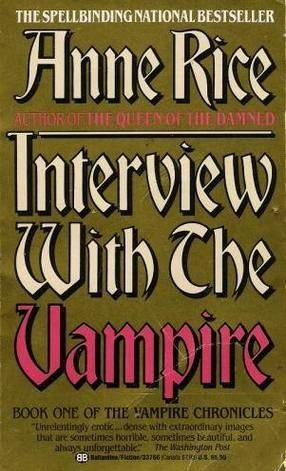 Image result for interview with a vampire book cover